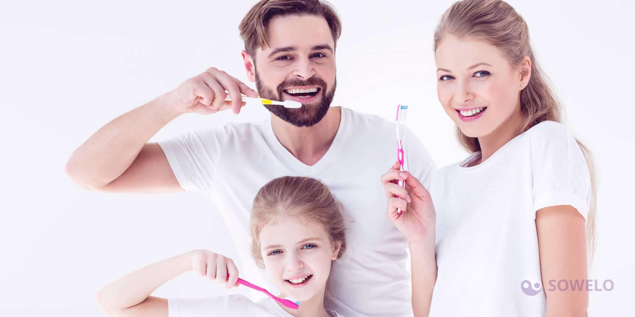 Pravilno ščetkanje zob